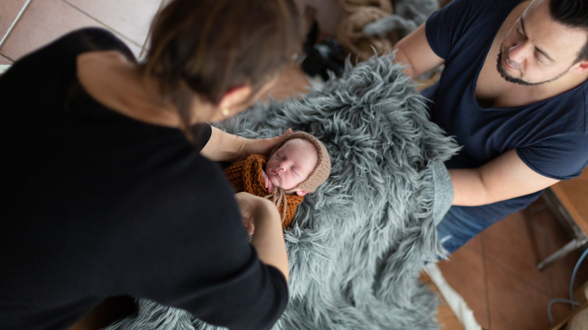 Behind the Scenes Aufnahme Workshop Newbornfotografie bei Stella & Uwe Fotografie in Papenburg.