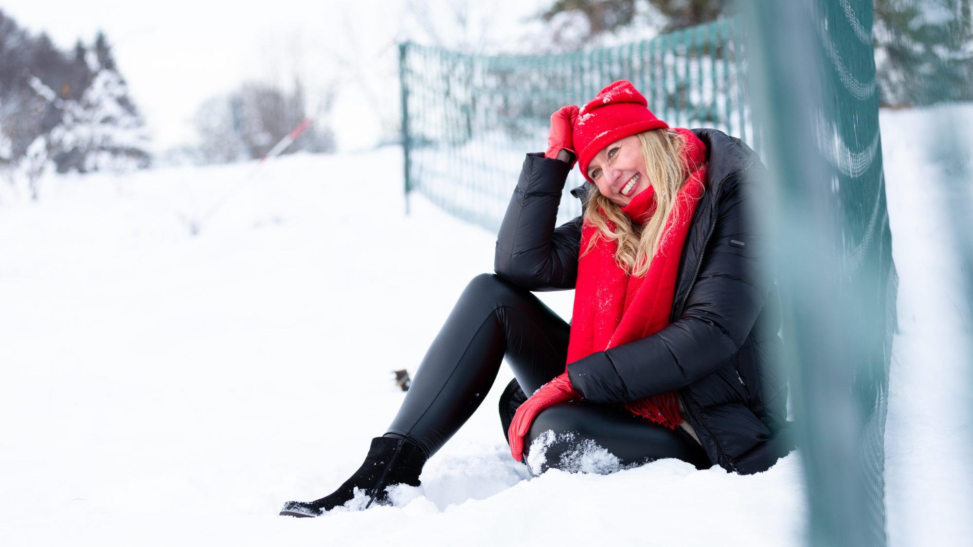 Schneeportrait Albstadt